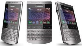 """""""Porsche Design P' 9981 BlackBerry"""" akıllı telefon"""