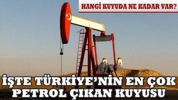 petrol kuyulari