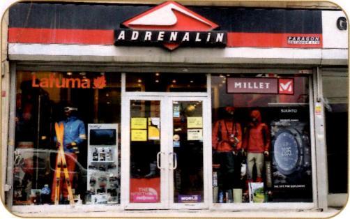 adrenalin magazasi