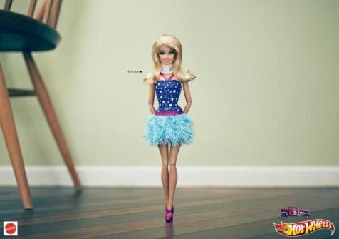 Barbie reklami