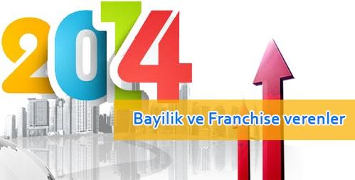 Franchise Veren Firmalar 2014