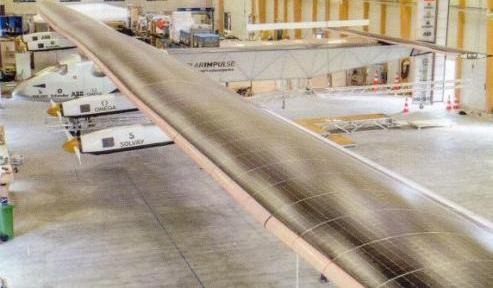 Güneş Enerjisi Kullanan Uçak Solar Impulse
