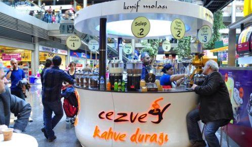 Cezve Kahve Duragi