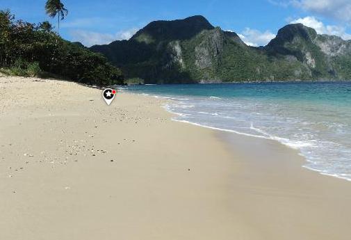 Filipinler, Secret Lagoon Beach