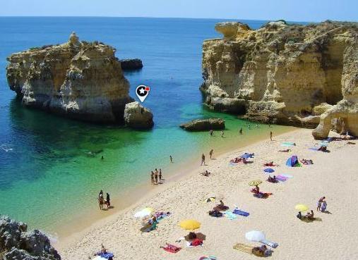 Portekiz, Olhos de Agua Beach