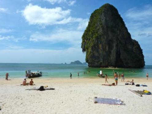 Tayland, Phra Nang Beach