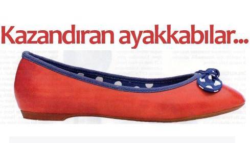 kazandiran ayakkabilar