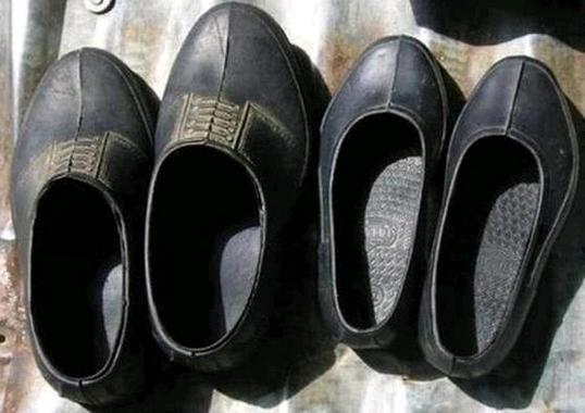 Kara Lastik Ayakkabi Modelleri