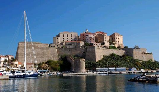 Calvi Korsika Fransa
