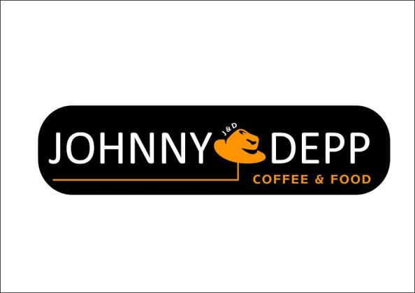 JOHNNY DEPP COFFEE LOGO