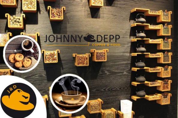 JOHNNY DEPP COFFEE