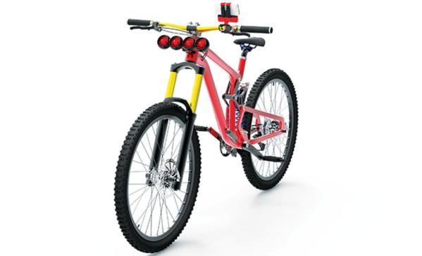 telefonu sarj eden bisiklet