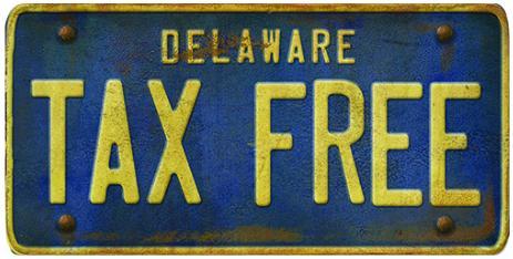 Vergisiz Eyalet Delaware