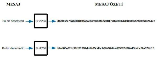 kripto para mesaj - Bitcoinde Teknlojik Arka Plan